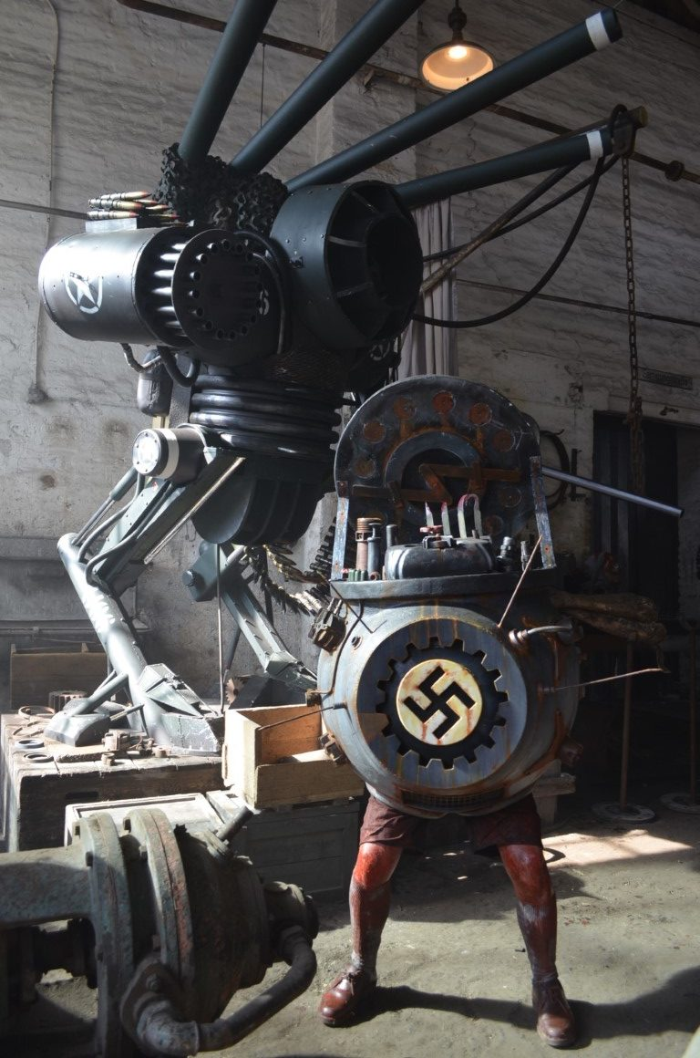 Special Props made by Unreal.eu for Frankensteins Army 2012