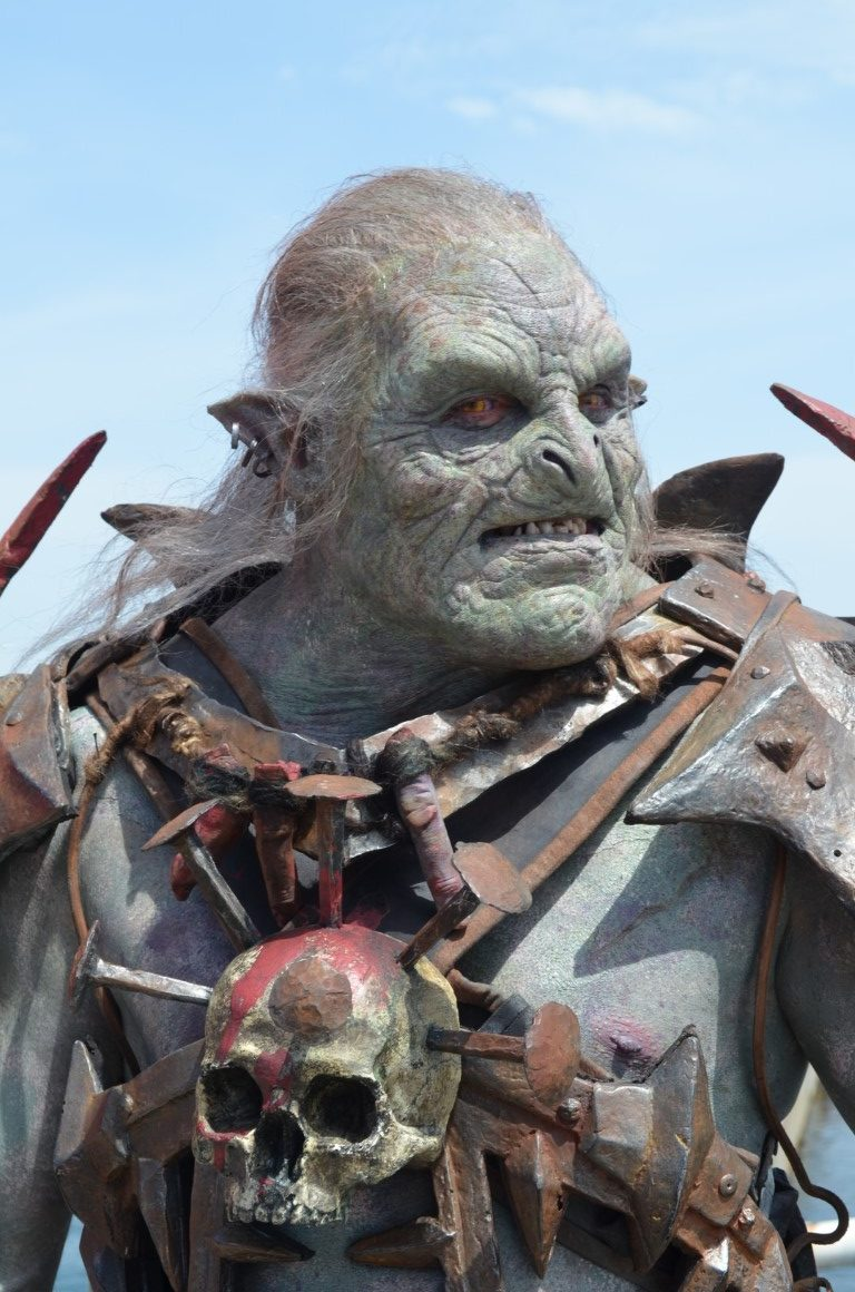 Shadow of War orc Noruk designed and created by Unreal.eu