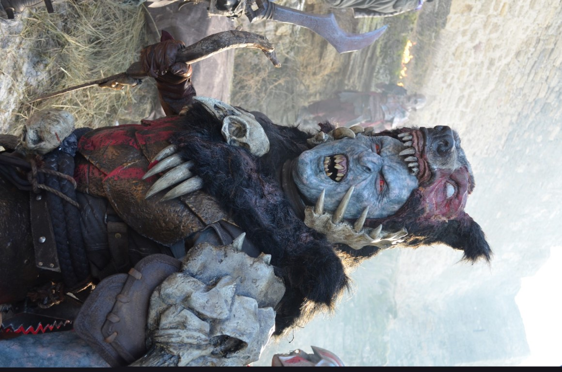 Shadow of War orc Red Beast Master designed and created by Unreal.eu