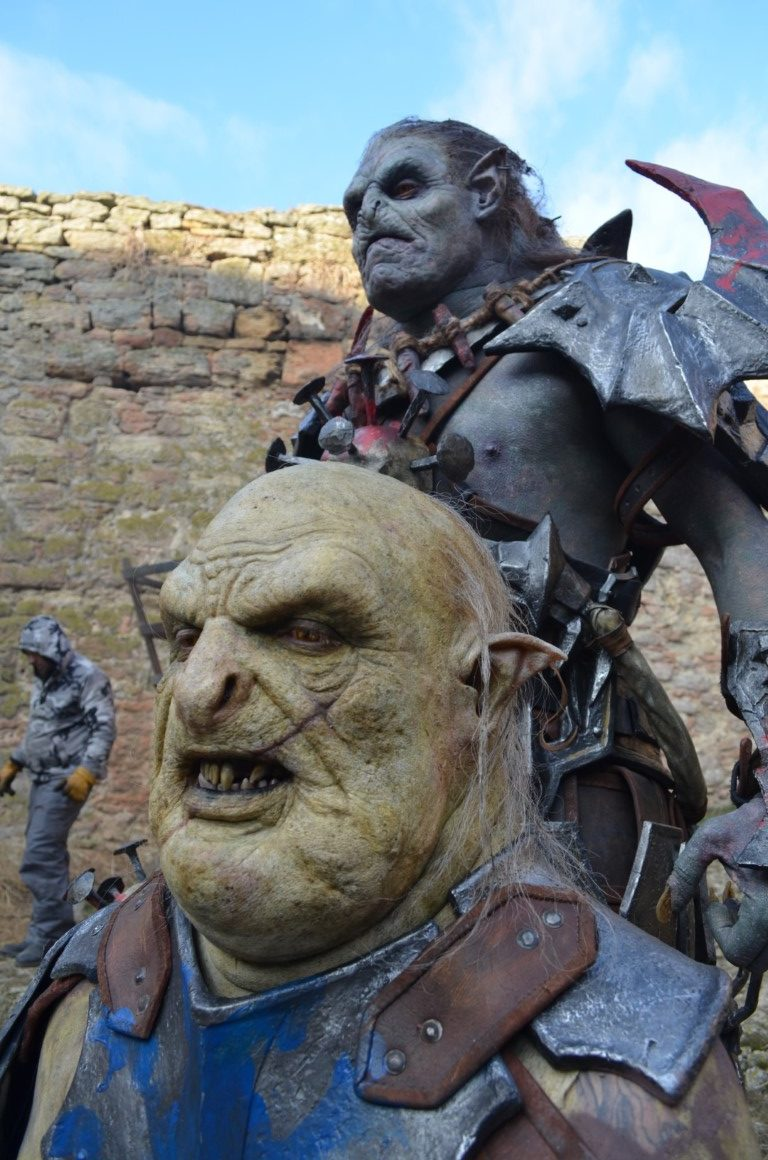 Shadow of War orc Blue Trapped Orc and Noruk designed and created by Unreal.eu