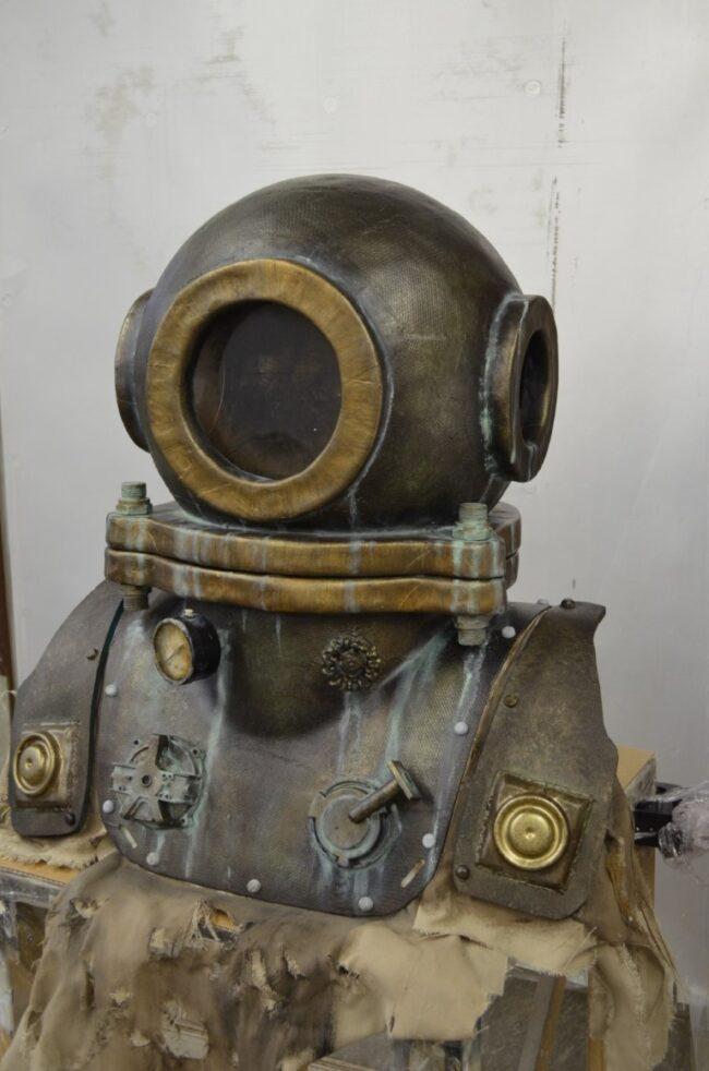 Dive helmet prop Weapon Frankensteins Army
