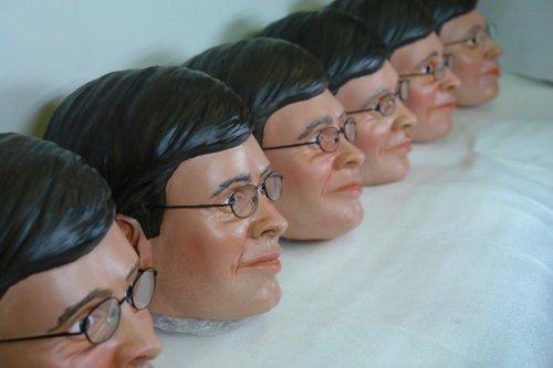 Balkenende prop masks made by Unreal.eu