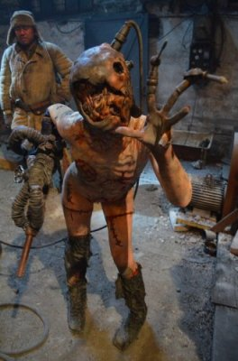 Full body prosthetics created by Unreal.eu for Film Frankensteins Army from Dutch director Richard Raaphorst