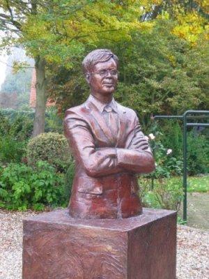 Statue Oud Premier Balkenende made by Unreal.eu
