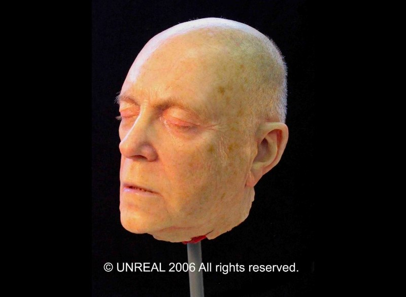 Dummyhead Serge Henri Valcke for Slachtnacht made by Unreal.eu