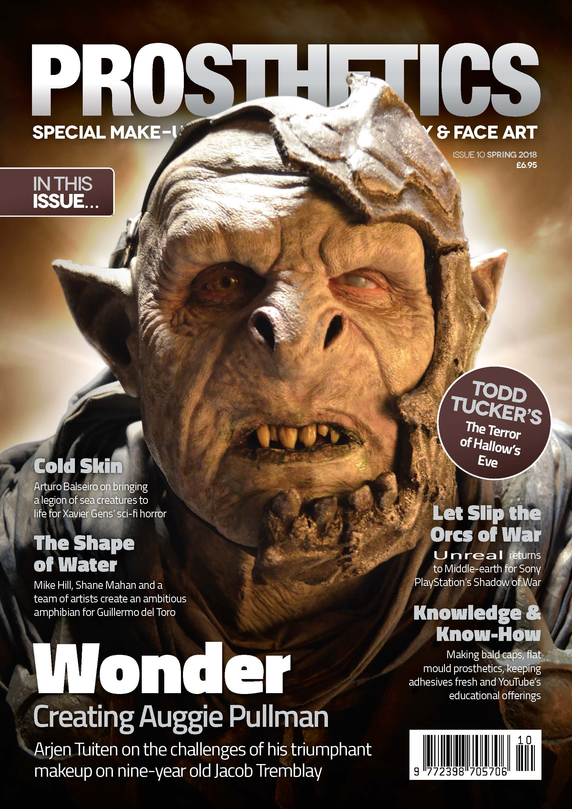 Shadow of War orc MOGG designed and created by Unreal.eu