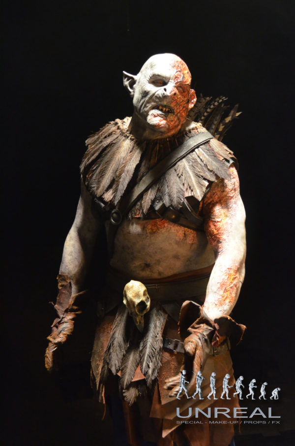 Burned Mogg, Orc PS4 Shadow of War made by Unreal.eu