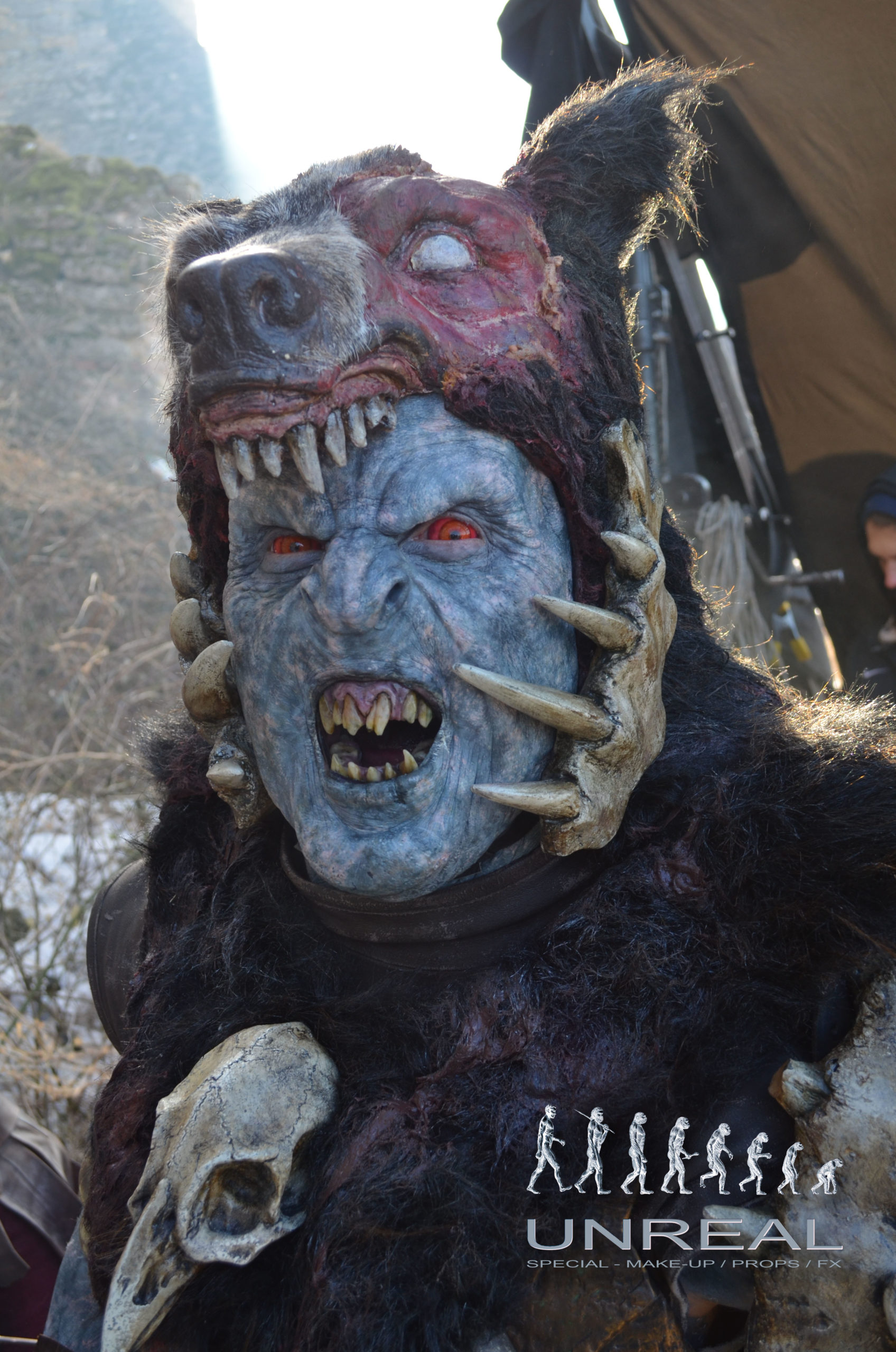 Shadow of War orc BEAST MASTER designed and created by Unreal.eu