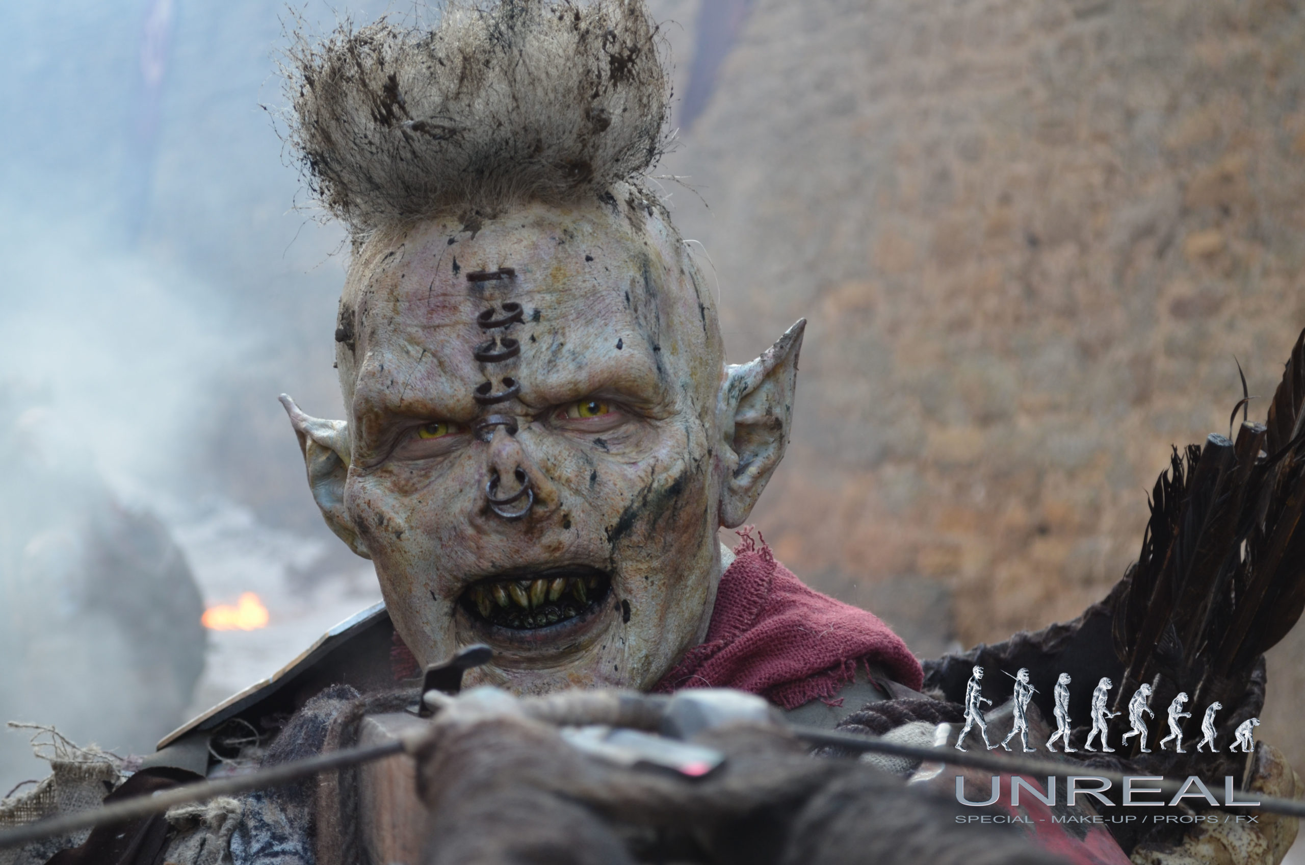 Shadow of War orc KHROSH designed and created by Unreal.eu