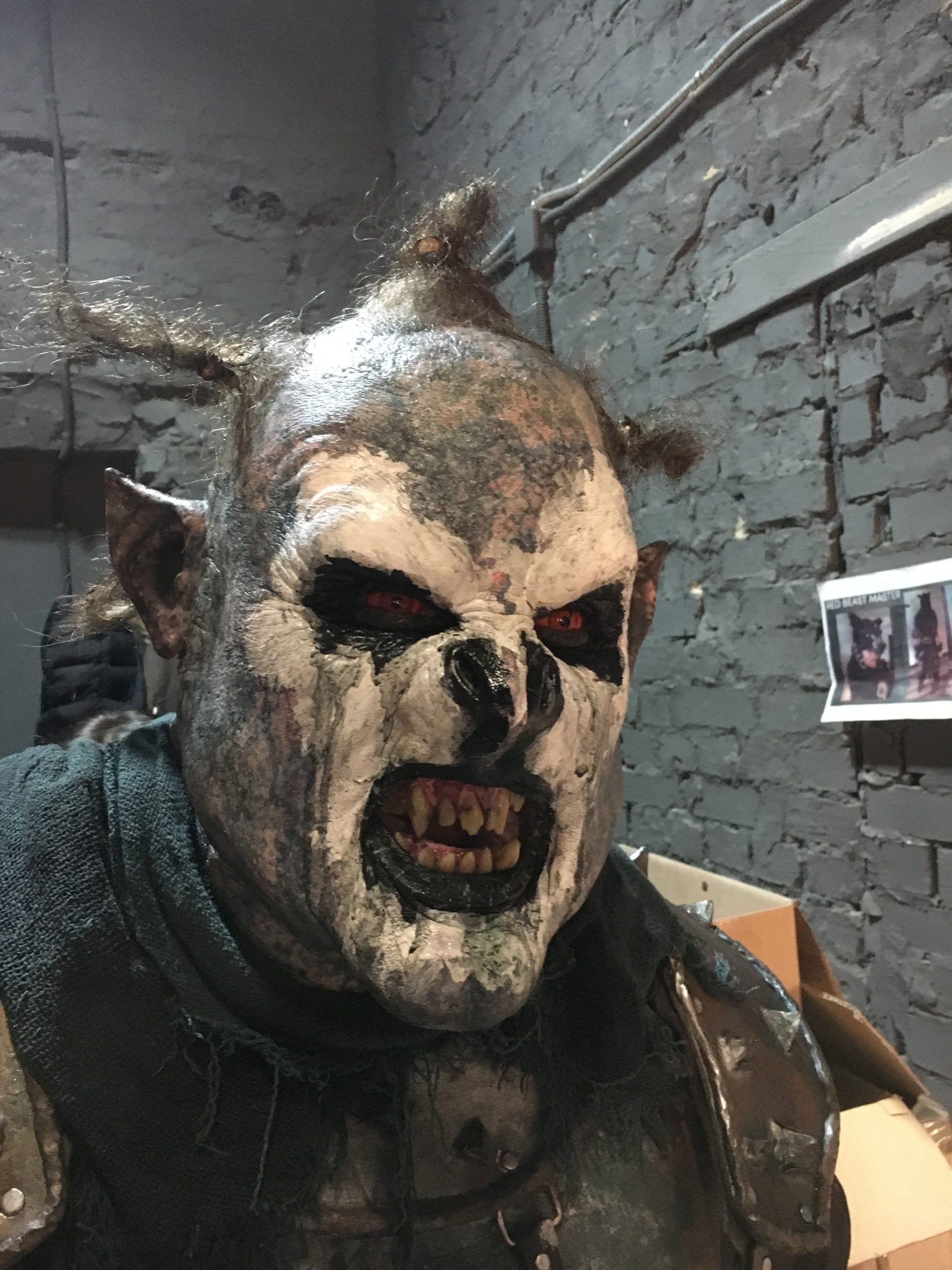 Shadow of War orc OVERLORD designed and created by Unreal.eu